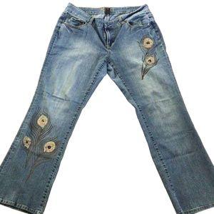 Mix It Boot Cut Jeans 16 W.